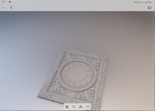 طرح سه بعدی ساعت دیواری cnc منبت چوب