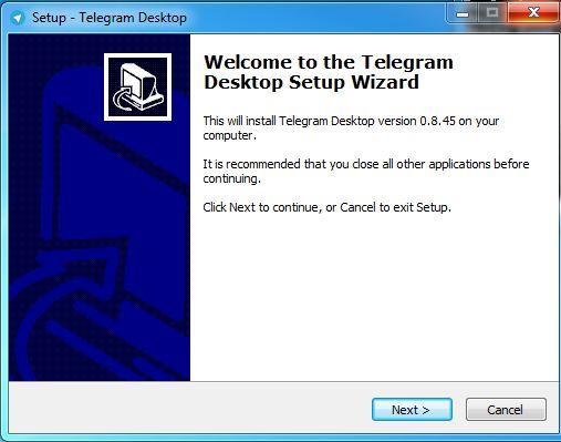 نرم افزار تلگرام برای کامپیوتر telegram