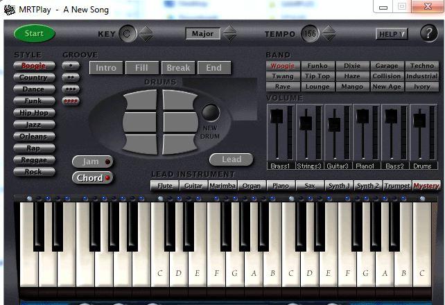 پیانو و ارگ برای کامپیوتر