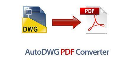 نرم افزار تبدیل فایل های DWG به فایل های پی دی اف