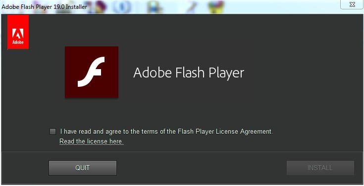 نرم افزار فلش پلیر برای مرورگرها Adobe Flash Player 19.0.0.185