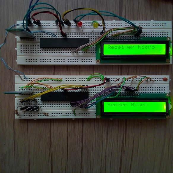 پروژه اتصال دو ماژول بلوتوث hc05 به یکدیگر