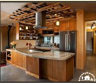 دکوراسین داخلی آشپزخانه (مبلمان و تجهیزات داخلی آشپزخانه)