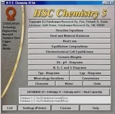 دانلودHSC Chemistry 5.1
