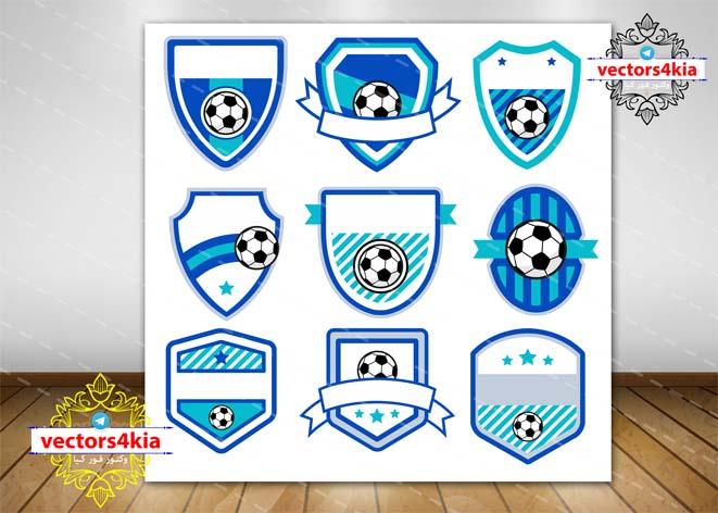 وکتور لوگوی باشگاه فوتبال - با فرمت های Ai-EPS-PNG-PSD