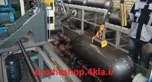 فرآیند تولید مخازن گاز طبیعی فشرده  (CNG) نوع اول