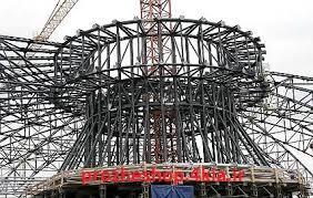پروژه قطعات فشاری در سازه های فولادی