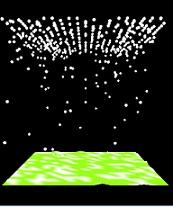 پروژه گرافیکی بارش برف و باران در C++