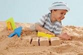 کاهش پرخاشگری با شن بازی درمانی