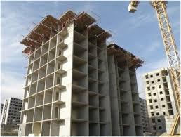 تحقیق ساختمانهای بتنی