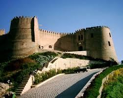 معماری قلعه فلک الافلاک