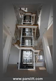 مقاله پله، آسانسور و انواع آن