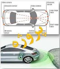 پروژه شبيه سازي موانع عقب خودرو  با استفاده از 4 سنسور مافوق صوت