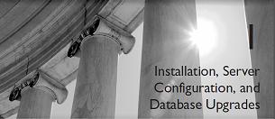 installation-configuration and database upgrades