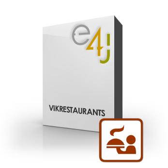 کامپوننت اورجینال مدیریت رستوران و فست فود VIK Restuarants