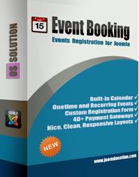 کامپوننت رزرو وقت Event Booking