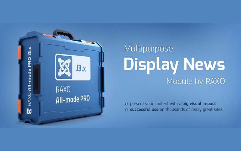 RAXO All-mode PRO 1.6 - ماژول نمایش مطالب جوملا