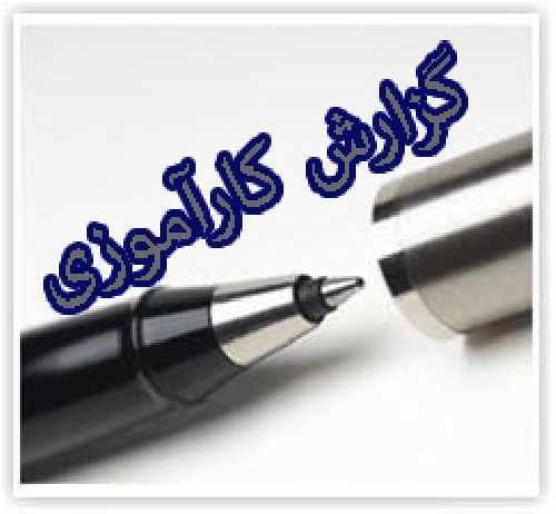 دانلود گزارش کاراموزی چاپخانه