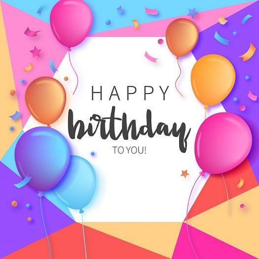 طرح لایه باز تم تولد - بنر جشن تولد کد 85