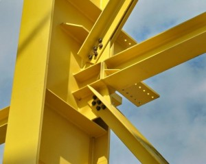 مقاله اتصالات سازه های فولادی