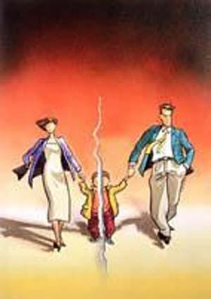 مقاله  آثار منفی طلاق بر روی فرزندان