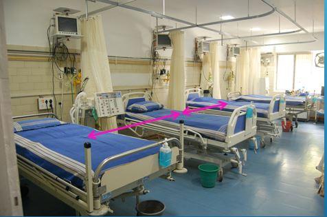 طراحی معماری مراقبت های ویژه بیمارستان