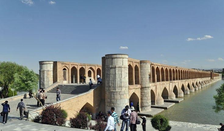 پاورپوینت بررسی معماری سی و سه پل اصفهان