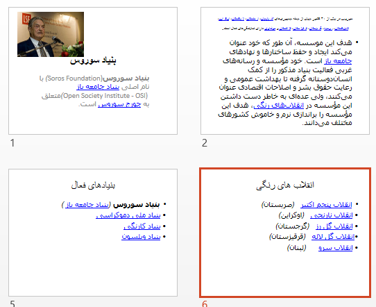 پاورپوینت و pdf بنیاد سوروس در 15 اسلاید