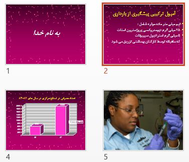 پاورپوینت و pdf پیشگیری از بارداری در 33 اسلاید