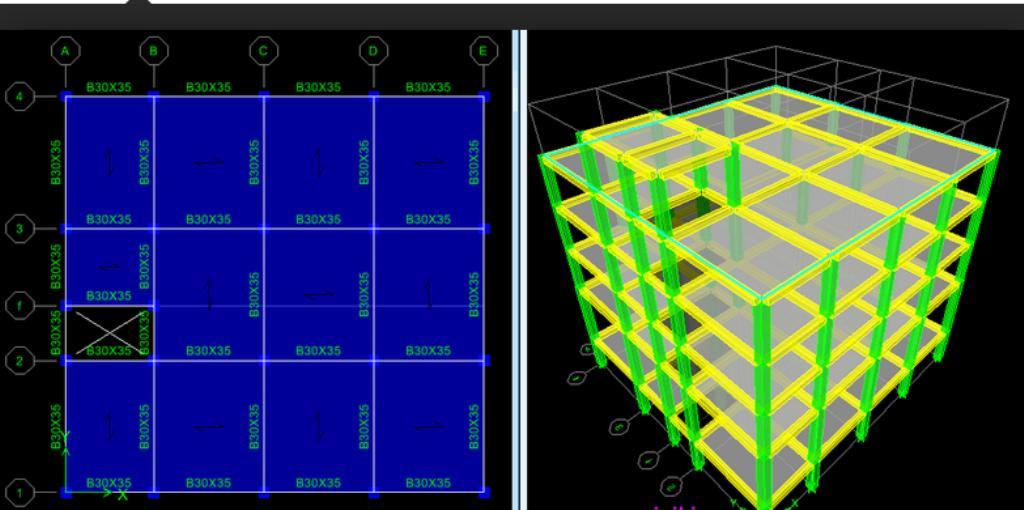 فایل تنظیم آماده محاسبات etabs سازه های فولادی و بتنی + راهنمای تنظیمات
