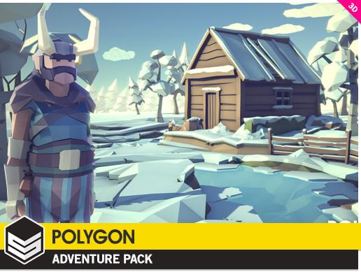 پکیج یونیتی POLYGON - Adventure Pack