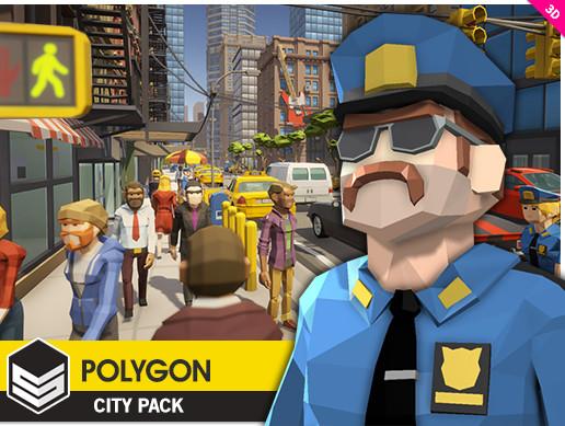 پکیج یونیتی POLYGON - City Pack