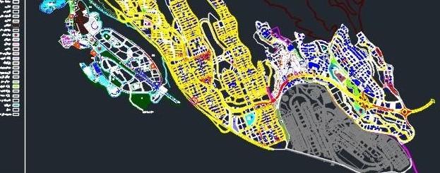 نقشه کامل شهرک جدید سهند
