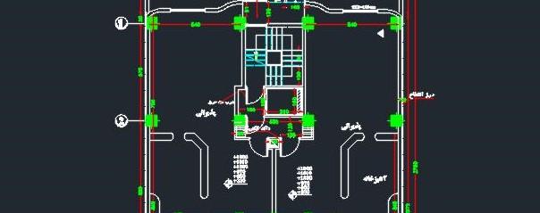 نقشه کامل ویلایی 1
