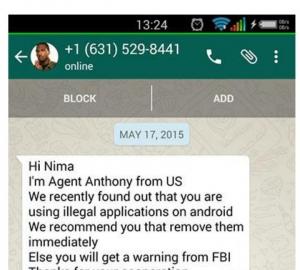 اکانت نامحدود وايبر واتساپ تلگرام