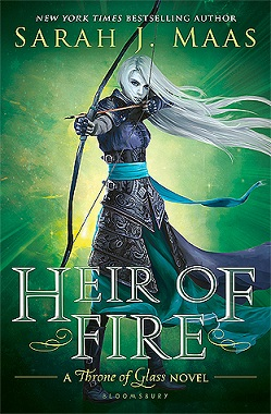دانلود کتاب Heir of Fire جلد سوم مجموعه Throne of glass اثر Sarah J.Mass