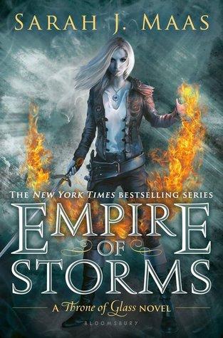 دانلود کتاب Empire Of Storms جلد پنجم مجموعه Throne of glass اثر Sarah J.Mass