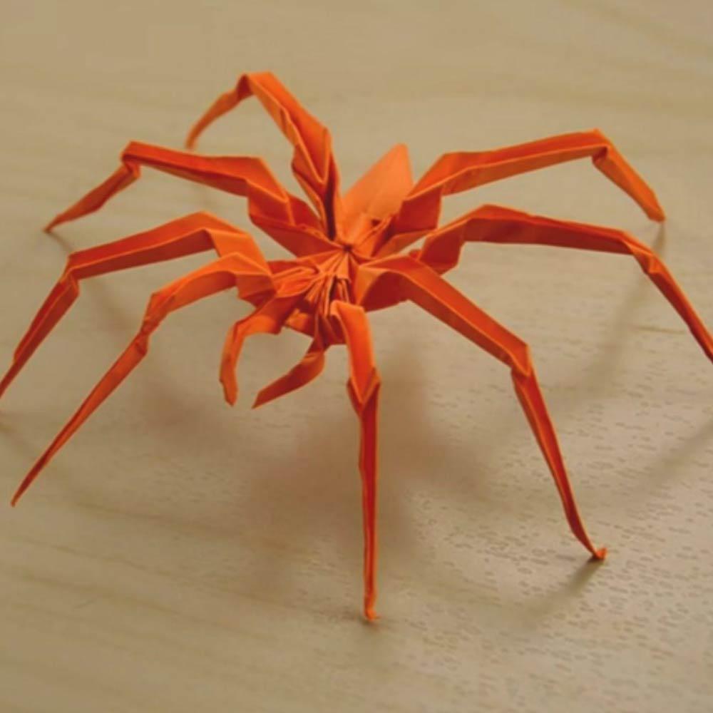 آموزش اوریگامی عنکبوت