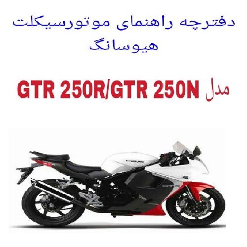 دفترچه راهنمای موتورسیکلت هیوسانگ دو سیلندر Hyosung GT 250R/N