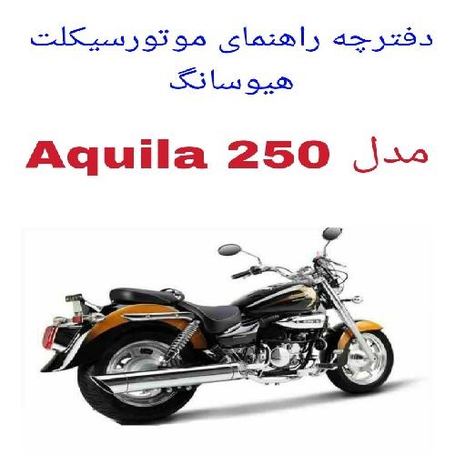 دفترچه راهنمای موتورسیکلت هیوسانگ Hyosung Aquila 250
