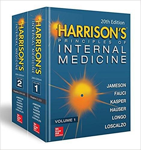 دانلود کتاب پزشکی هاریسون چاپ20 (2018)