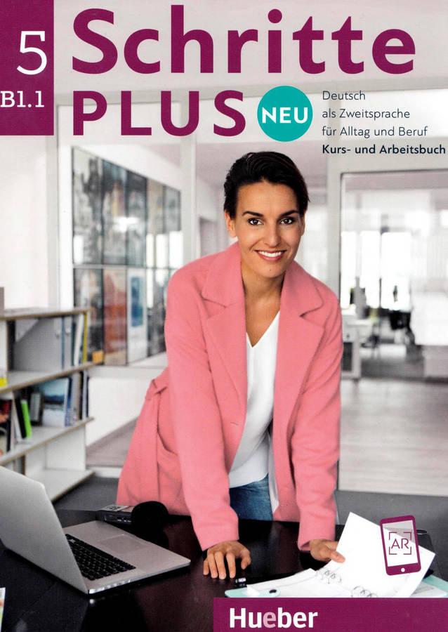 کتاب آموزش زبان آلمانی Schritte Plus Neu 5 B1.1 به همراه فایل های صوتی کتاب