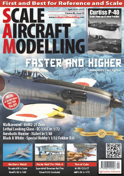 SCALE AIRCRAFT MODELLING 2018 - مجله