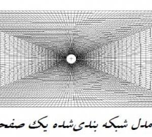 مقاله(مهندسی مکانیک):ضریب تمرکز تنش در یک صفحه سوراخ دار با ابعاد محدود