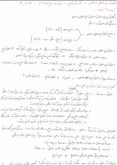 دانلود رایگان فایل حقوق بین الملل اسلامی با فرمت pdf