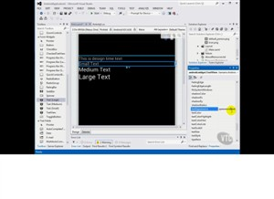 آشنایی با Text view در اندروید به زبان سی شارپ