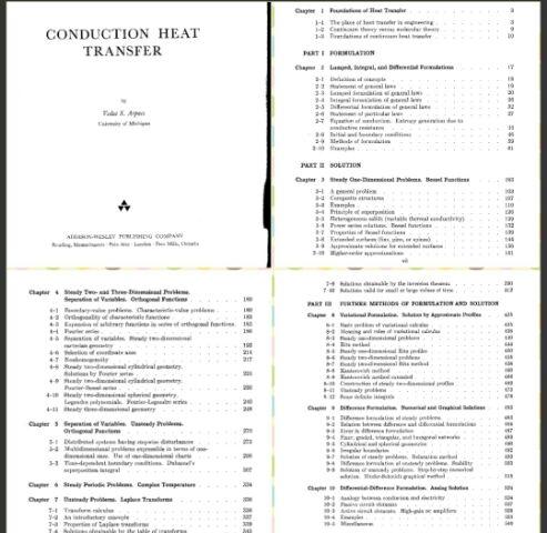 دانلود کتاب انتقال حرارت هدایتی آرپاچی(زبان اصلی)