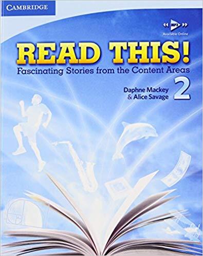 حل تمرینات کتاب read this 2