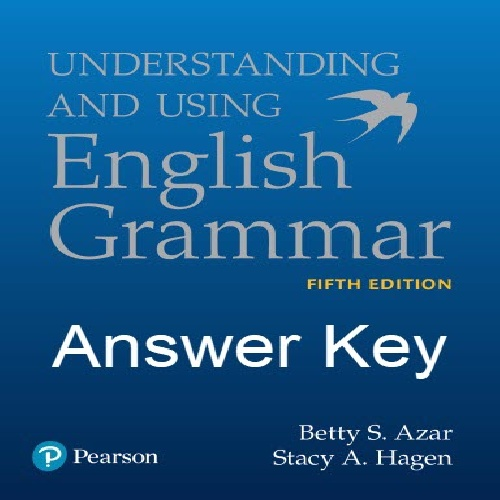 پاسخ تمرینات English Grammar تالیف Betty Azar