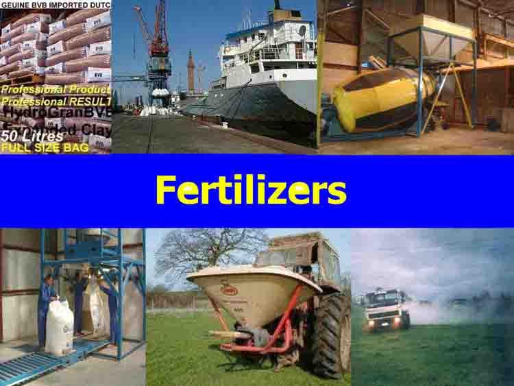 تغذیه گیاهان (Fertilizers)